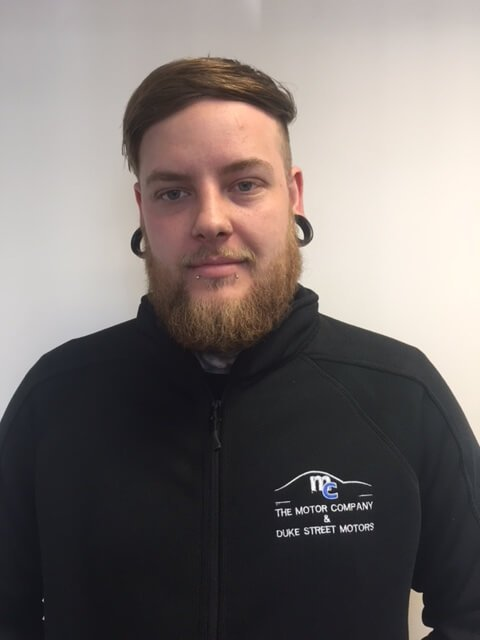 Daniel Protheroe at The Motor Company PPS ltd