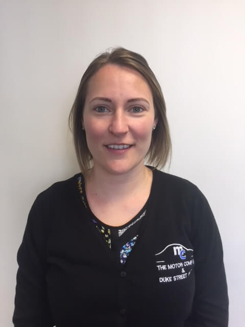Kirsty Giles - accountant at The Motor Company PPS ltd