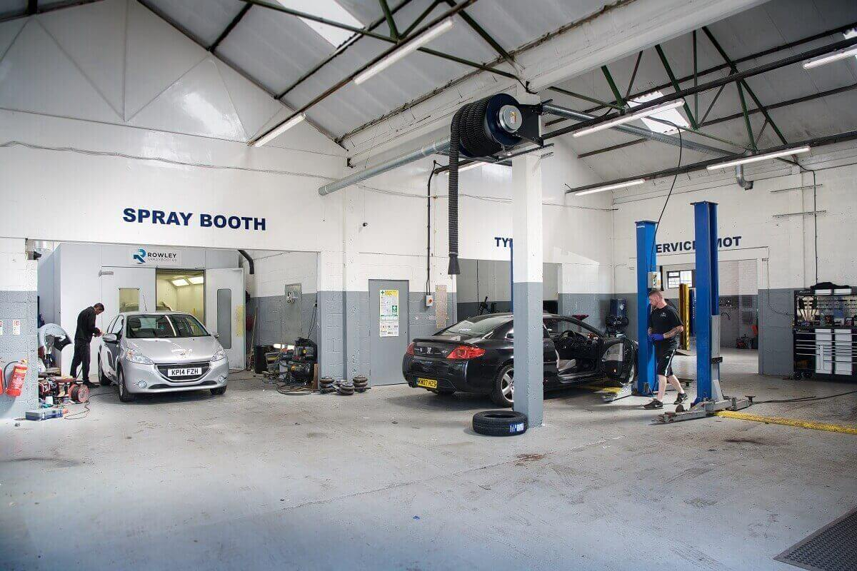 Car Service at the Motor Company PPS ltd Leicester