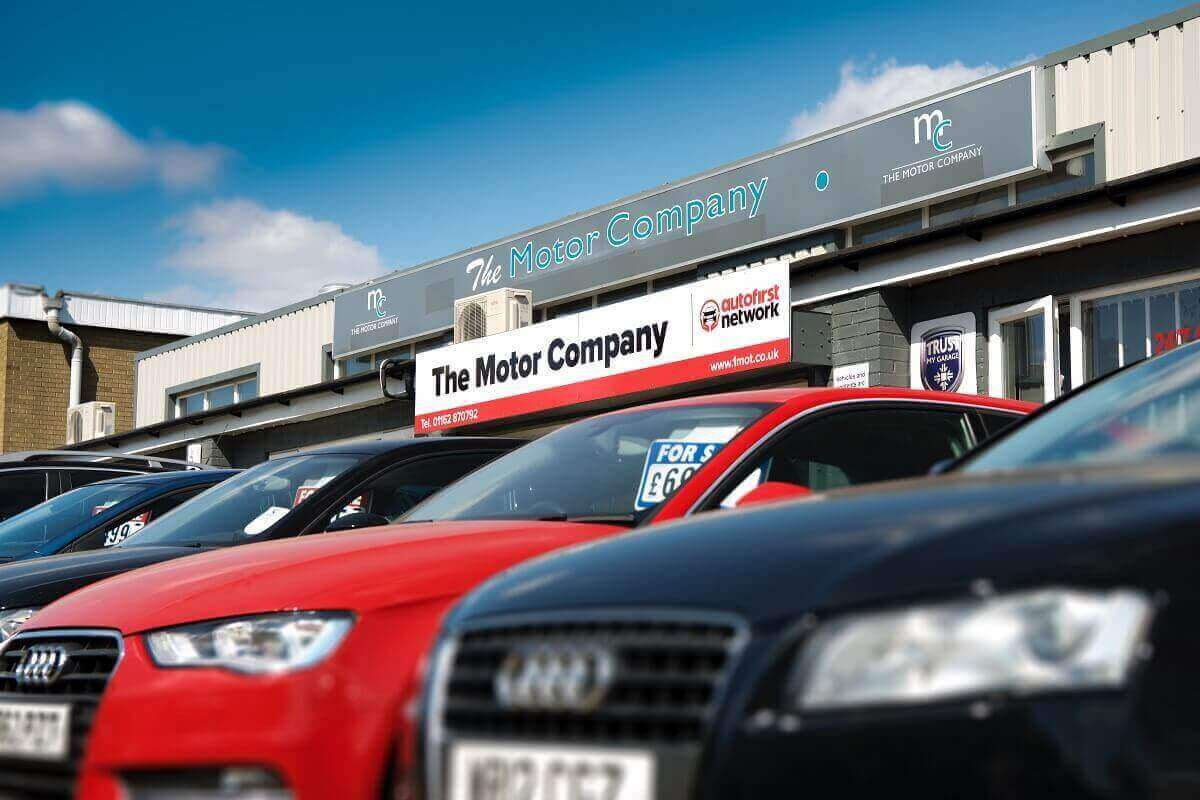 The Motor Company Leicester - main entrance